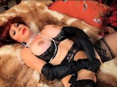Sexy Vanessa Sexy Lingerie Solo