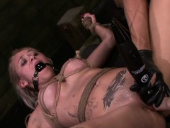 FetishNetwork Marsha May fuck machine bondage slut