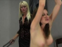 Carlena gets tied and spanked