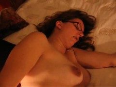 Busty lady with creampie