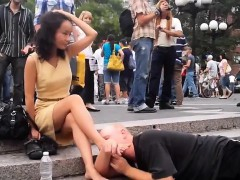 New York Foot worship