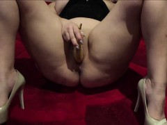 Horny Amateur Getting Off on her Banana