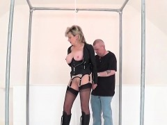 Unfaithful English Milf Lady Sonia Pops Out Her Big Balloons