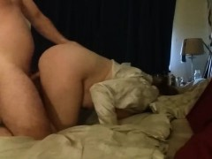 Boning a Horny chubby Cougar - Doggystyle