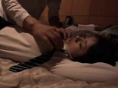 Cheating Japanese wife satisfies her desire for hard meat o