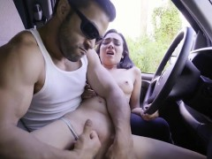 Teen Kiley Jay Gets Fingered By Her Driver