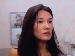 Pretty Shy Asian Schoolgirl Learning English on Cam
