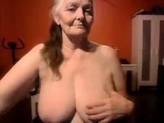 Grandma Gets Wild On Cam - Shocking Cams At 8cams,com
