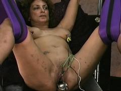 Rough Lesbian Servitude In Amateur Scenes Along Sweethearts
