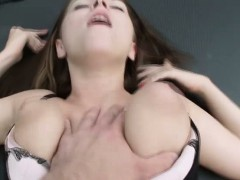 Sexy babe Marina gets banged in the car