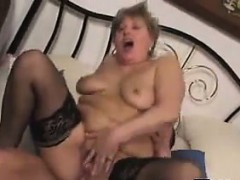 Fat Granny Fucked In The Ass