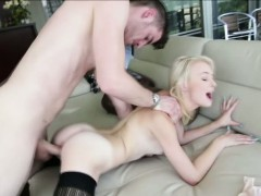 Funsize blonde Maddy Rose gets her tight pussy hammered