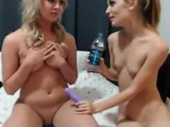 A Massage And Lesbian Fun