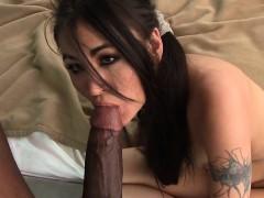 Jade Hsu takes Mandingo's BBC