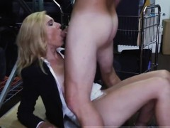 Two asians blowjob sloppy Hot Milf Banged At The PawnSHop