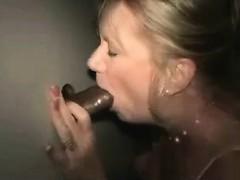 Woman fucks and sucks a stranger