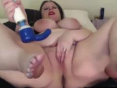 British BBW Jackie Synn with big 42f milky boobs - bbw-sexy