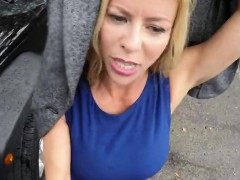 Perfect Blonde MILF Alexis Fawx Gets Talked Into Sex