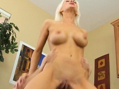 Hot Blonde Anal Fuck With Instructor Brandi Edwards