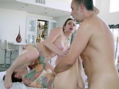 Horny Wives Get Dicked Down By Hung Masseur