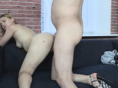 European babe casted on leaked sextape