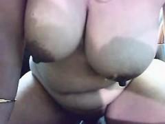 Sexy BBW MILF toys her pussy