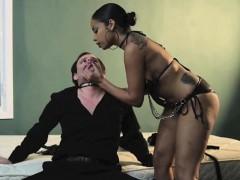 Havana Spanks and Fucks Transgender Pegging Fetish