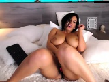Fat BBW with big boobs masturbating and squirtin on cam