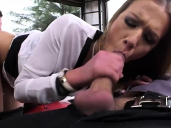 Alexis Crystal feed all her hole with giant penis