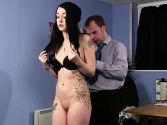 Tattooed English Gal Cum Drenched With Facial