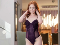 Ella Hughes Strips Out of Her Lingerie