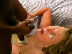 Amateur facial cumshot by big cock