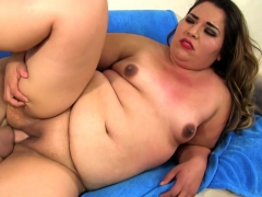 Sexy Bbw And A Guy Kiss Each Other She Gives An Awesome