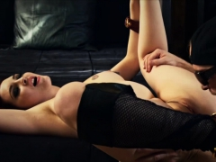Amber chained and then gets pounded hard