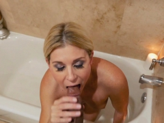 Stepmom Took A Cock By Her Round Juicy Ass