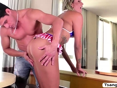 Ts Bella Trix Gets Her Ass Penetrated By S0ke Dudes Cock