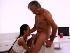 OLD4K. Old daddy penetrates smoking-hot secretary in...