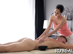 Deep-throat Oral-stimulation Job Mixed With Stunning Fucking