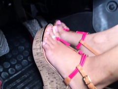 Indulge yourself and your foot fetish in this one hell