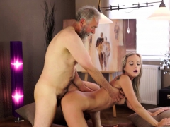 Old4k. Cumshot All Over Tummy Culminates Sex Of Old...