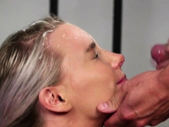 Frisky Model Gets Cum Shot On Her Face Swallowing All The Cu