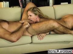 blonde milf Julia Ann gets pounded