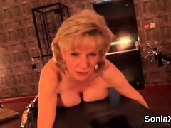 Adulterous Uk Mature Gill Ellis Shows Her Monster Globes
