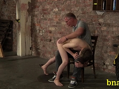 Boy Gets His Dick Treated In A Tough Way Enjoys Fetish Sex