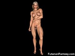 3d Futa Chicas With Big Cocks!