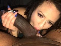 Interracial Boning Slutty Brunettes In Heat With Big Cocks