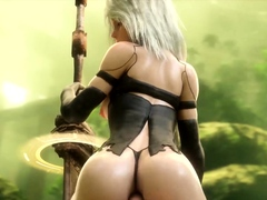 3D Compilation of The Best Sluts from Video Games